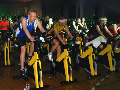 24 Timers Indoor Cycling Maraton 2018  – Billeder